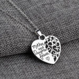 Jewelry - 3/$30 Mother & Daughter Heart Shaped Necklace